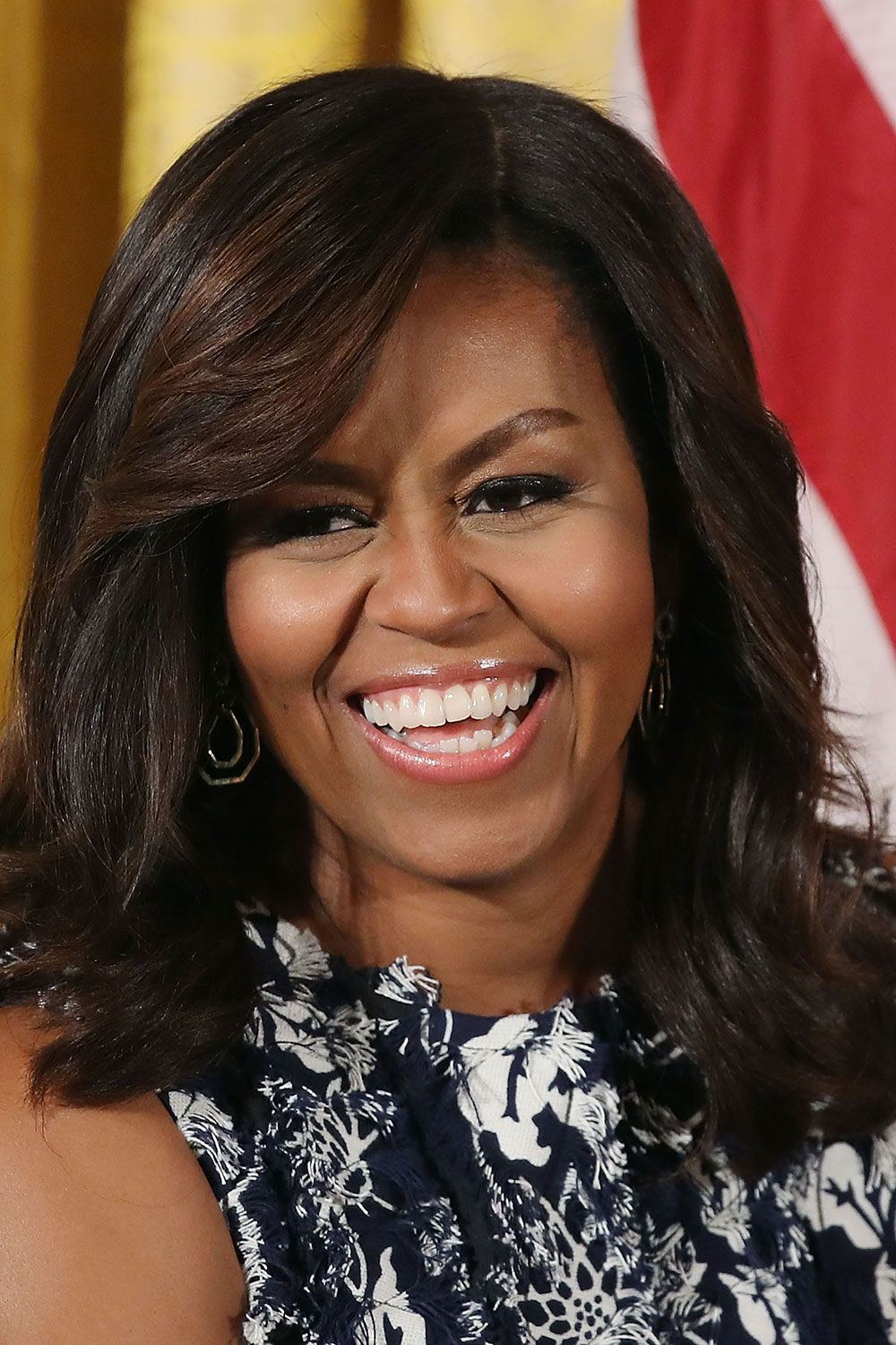 Michelle Obama's make-up artist on the 5 products she uses to achieve that glow