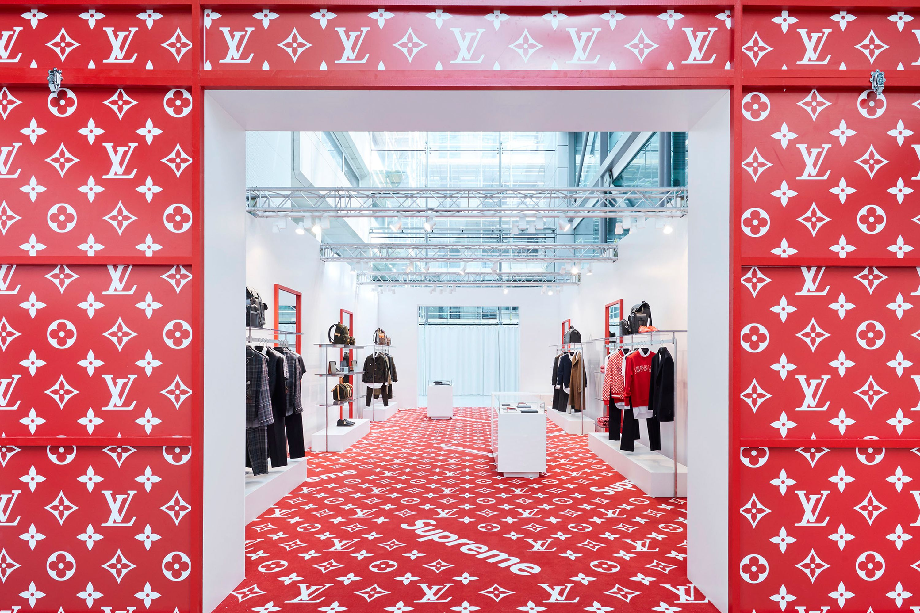 83eebf5362d862 Louis Vuitton s Supreme pop-up store has arrived in London