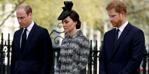 Duke Duchess of Cambridge Prince Harry