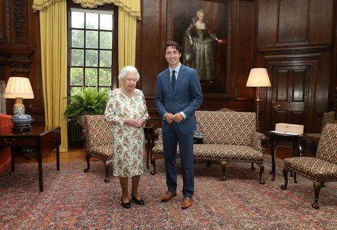 The Queen, Justin Trudeau