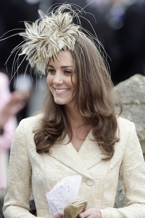 Kate Middleton at a wedding