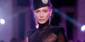 Bella Hadid on the Alexandre Vauthier catwalk