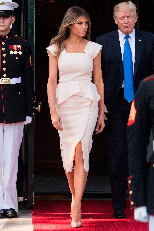 Melania Trump\'s style evolution