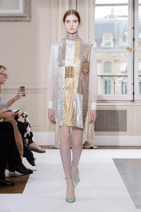 Fashion, Fashion model, Fashion show, Runway, Haute couture, Clothing, Public event, Event, Fashion design, Dress,