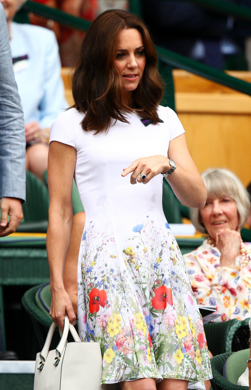 The Duchess of Cambridge at Wimbledon final