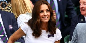 Duchess of Cambridge at Wimbledon final