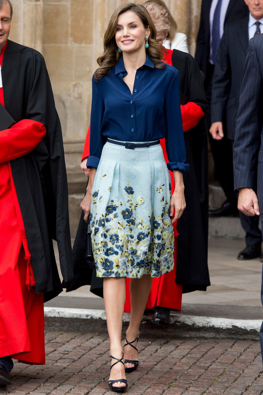 8c9b256c Queen Letizia of Spain's most elegant style moments | Queen Letizia's best  fashion