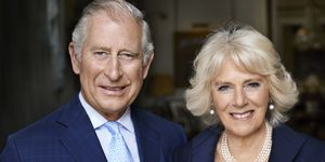 Prince Charles and Camilla - In this handout photo provided by Clarence House, Prince Charles, Prince of Wales and Camilla, Duchess of Cornwall, are photographed by Mario Testino in the Morning Room at Clarence House in May 2017 to mark the Duchess's 70th birthday