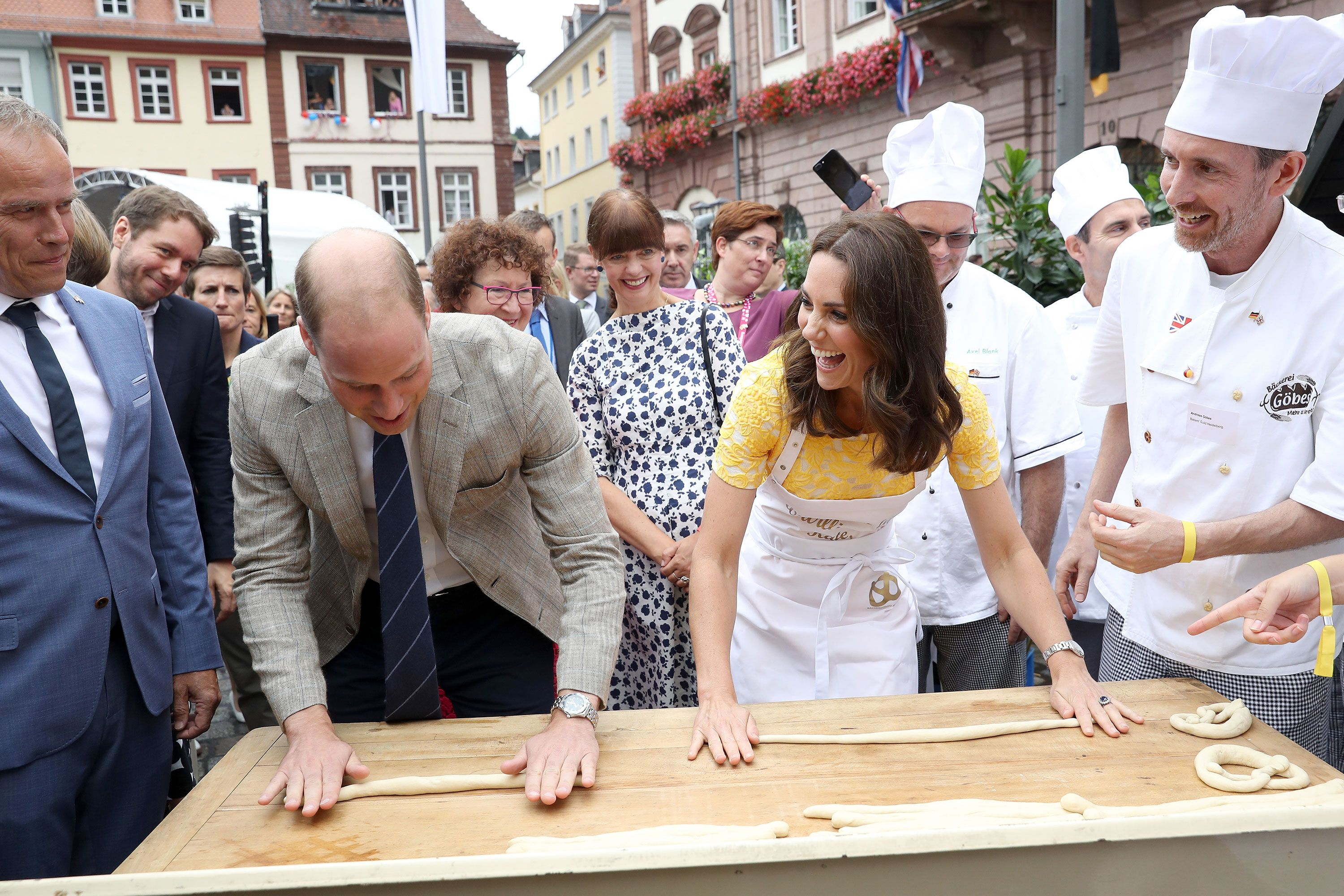 Göbes Heidelberg the royal tour of poland and germany in pictures 2017 duke and