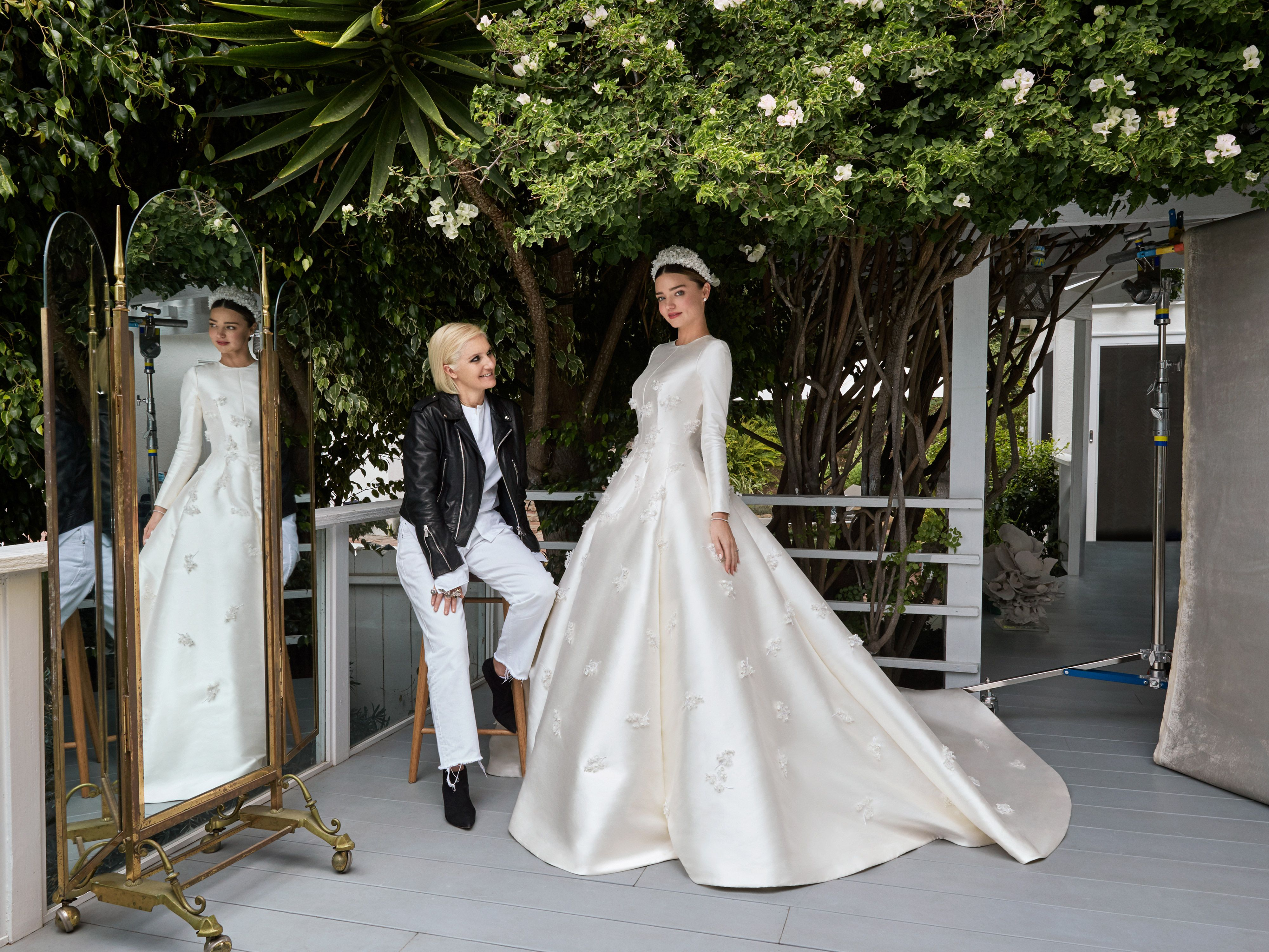 Miranda Kerr Wedding Dress Pictures Got Married Wearing Dior Couture