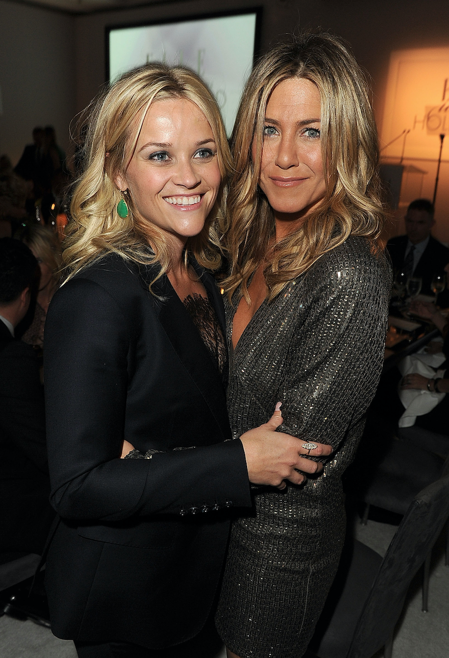 'Friends' star Jennifer Aniston is making her TV comeback - with Reese Witherspoon