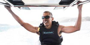 Obama at Necker Island