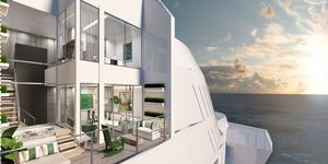 An Edge Villa onboard the new Celebrity Edge cruise liner