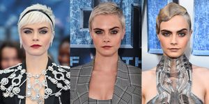 Cara Delevingne Short Hair