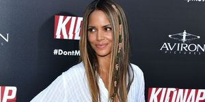 Halle Berry hair wraps