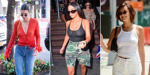 Celebrities wearing sheer tops