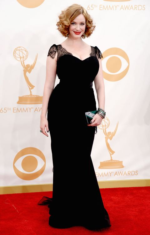 Christina Hendricks at the Emmys