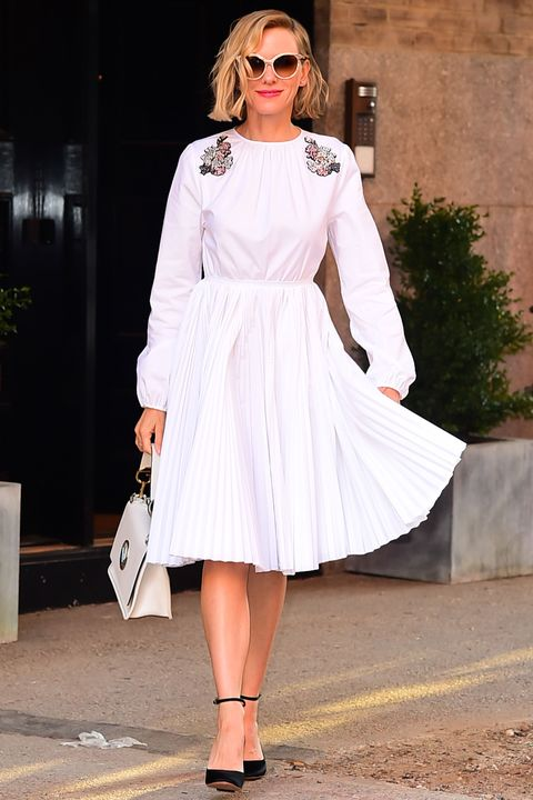 Clothing, Eyewear, Glasses, Sunglasses, Sleeve, Shoulder, Outerwear, White, Fashion accessory, Dress,