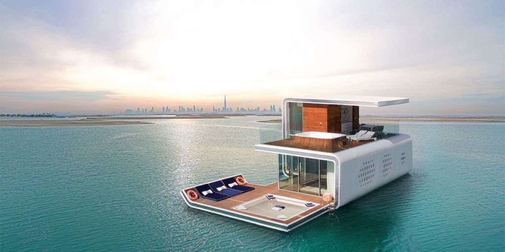 These luxury underwater villas are being built off the coast of Dubai