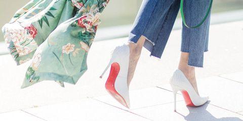 Clothing, Jeans, Denim, Street fashion, Turquoise, Waist, Fashion, Footwear, Shoulder, Shoe,