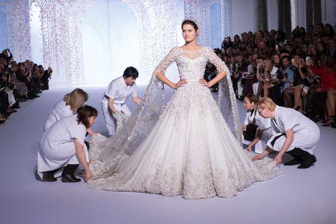 692f6e08b382 Bets suspended on Meghan Markle's wedding dress designer - Ralph & Russo