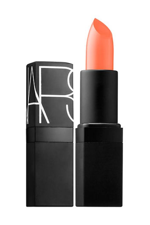 "<p>""This is an old, classic sheer peach tone and great on multiple skin tones with a soft smokey eye,"" said celebrity makeup artist Katie Hughes.&nbsp;</p><p><em data-redactor-tag=""em"" data-verified=""redactor""></em>NARS Lipstick, $28, <a href=""http://www.sephora.com/lipstick-P2865"" data-tracking-id=""recirc-text-link""><em data-redactor-tag=""em"" data-verified=""redactor"">sephora.com</em></a></p>"