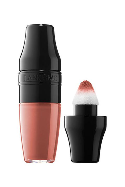 "<p>""It's so comfortable to wear and has lots of hydration for a matte lipstick,"" said Hughes.&nbsp;</p><p>Lancome Matte&nbsp;Shaker, $22, <a href=""http://www.sephora.com/matte-shaker-high-pigment-liquid-lipstick-P418107?skuId=1940428&amp;om_mmc=ppc-GG_381463959_27499872519_pla-181447210119_1940428_97594821519_9073477_c&amp;country_switch=us&amp;lang=en&amp;gclid=EAIaIQobChMI4OuOjIna1QIVVLXACh2hAgifEAQYASABEgJ1dvD_BwE&amp;gclsrc=aw.ds"" data-tracking-id=""recirc-text-link""><em data-redactor-tag=""em"" data-verified=""redactor"">sephora.com</em></a></p>"