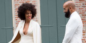 Solange Knowles wedding day
