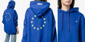Vetements EU hoodie