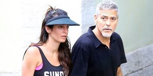 Amal and George Clooney on tennis date