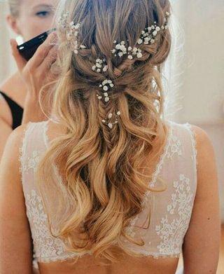 The Baby S Breath Braid Top Trending Bridal Hair