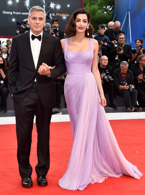 George And Amal Clooney At Venice Film Festival