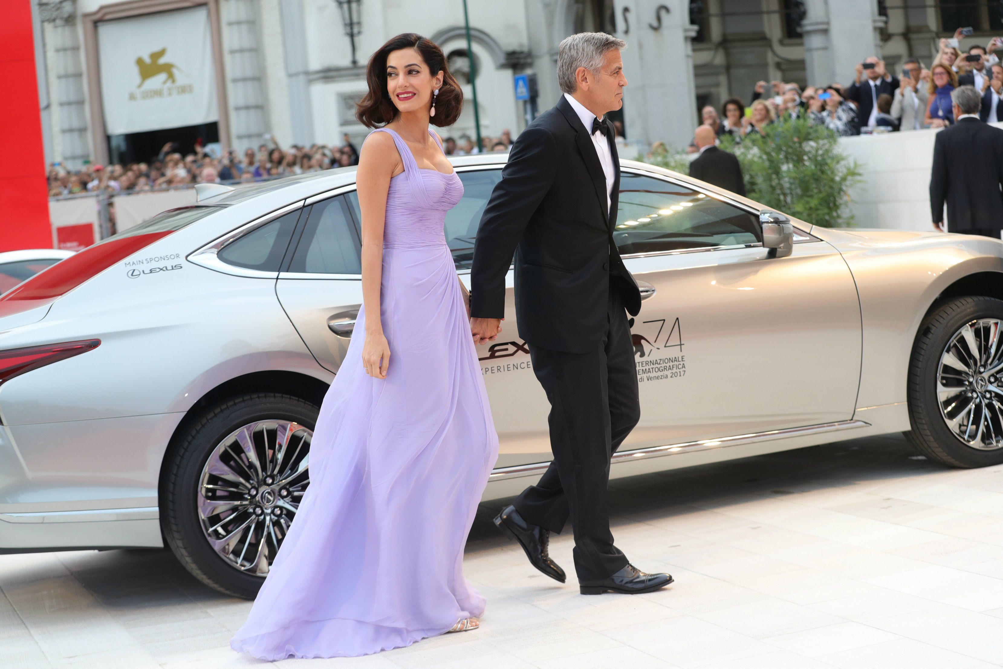 George and Amal Clooney at the Venice Film Festival 2017