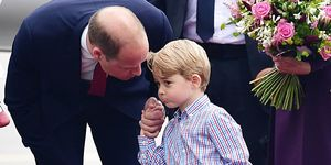 Prince William, Prince George arrive in Warsaw ahead of the five-day state visit