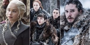 'Game of Thrones' Daenerys, Sansa, Bran, Arya and Jon