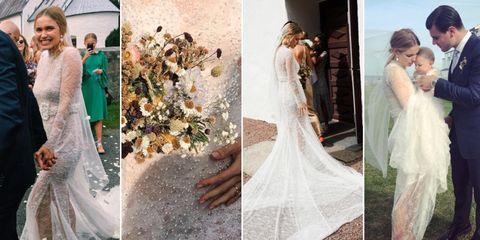 Pernille Teisbaek wedding