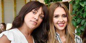 Shani Darden and Jessica Alba