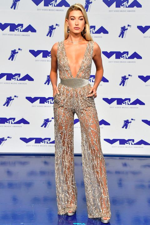 Hailey Baldwin at the VMAs