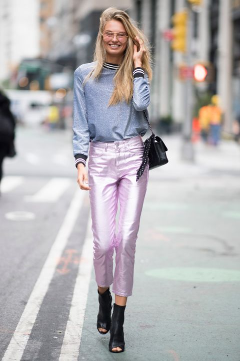 66f1c1c888dd4 Victoria s Secret models street style - castings and fittings in New York  for the Victoria s Secret