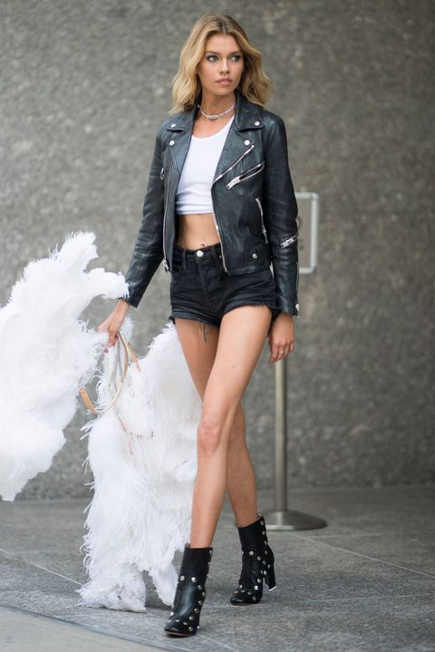 7a3e547de3a17 Victoria s Secret models street style - castings and fittings in New York  for the Victoria s Secret