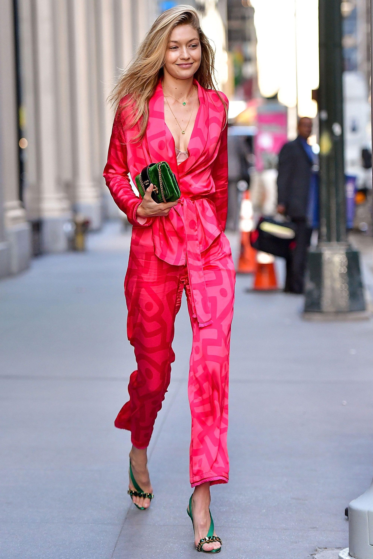 aeba45e575a Gigi Hadid s best fashion and street style