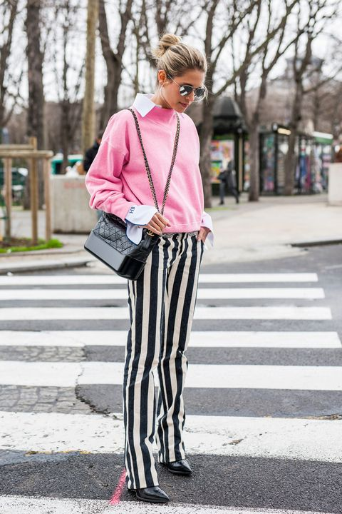 Clothing, Pink, Street fashion, White, Photograph, Fashion, Snapshot, Tights, Black-and-white, Footwear,