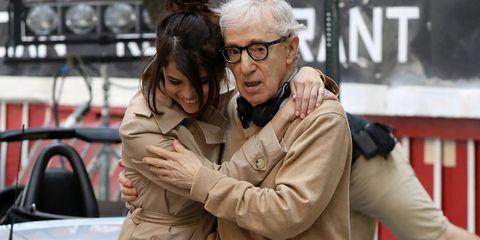 Selena Gomez with Woody Allen