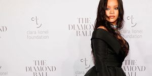 Rihanna at the Diamond Ball