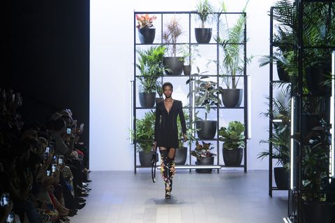 Fashion, Footwear, Tree, Fashion design, Architecture, Runway, Shoe, Fashion show, Art,