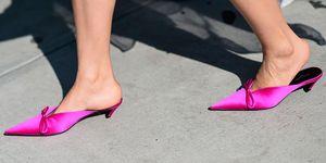 Balenciaga shoes from New York Fashion Week