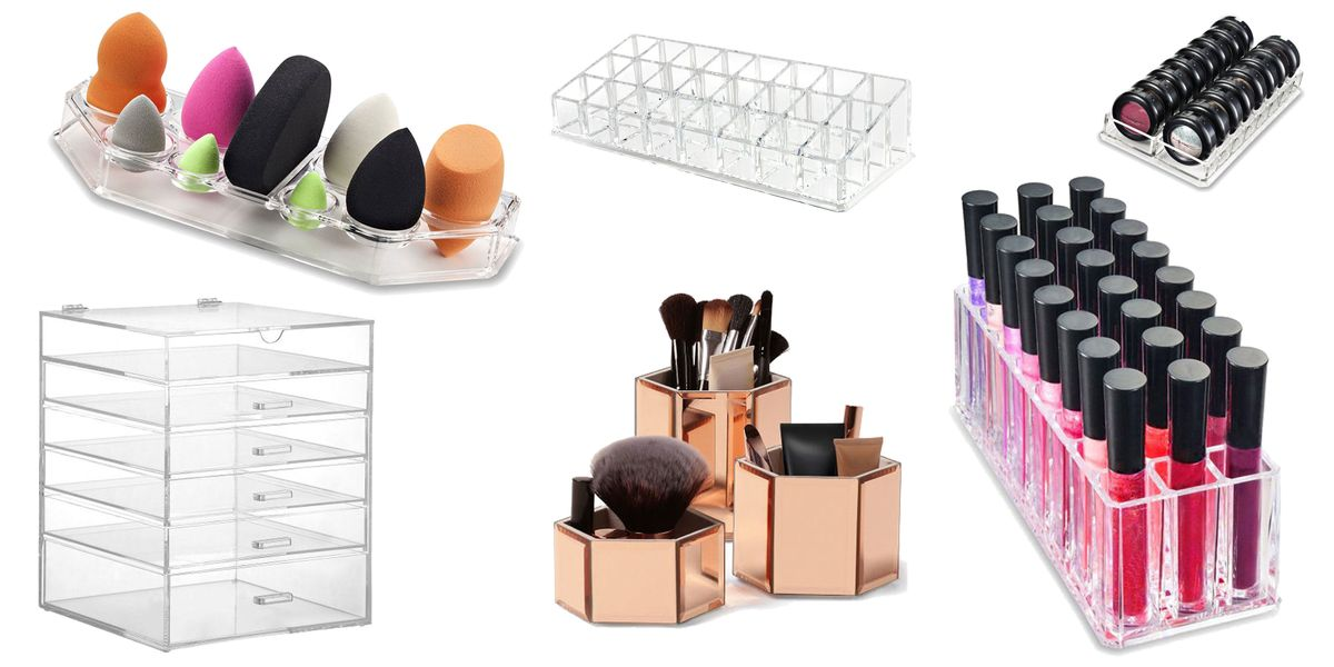 12 of the best make-up organisers on Amazon