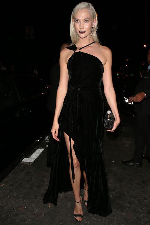 Dress, Clothing, Shoulder, Fashion model, Fashion, Little black dress, Cocktail dress, Hairstyle, Joint, Leg,
