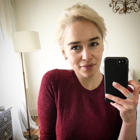 Hair, Skin, Selfie, Blond, Electronic device, Photography, Technology, Gadget, Mobile phone, Neck,