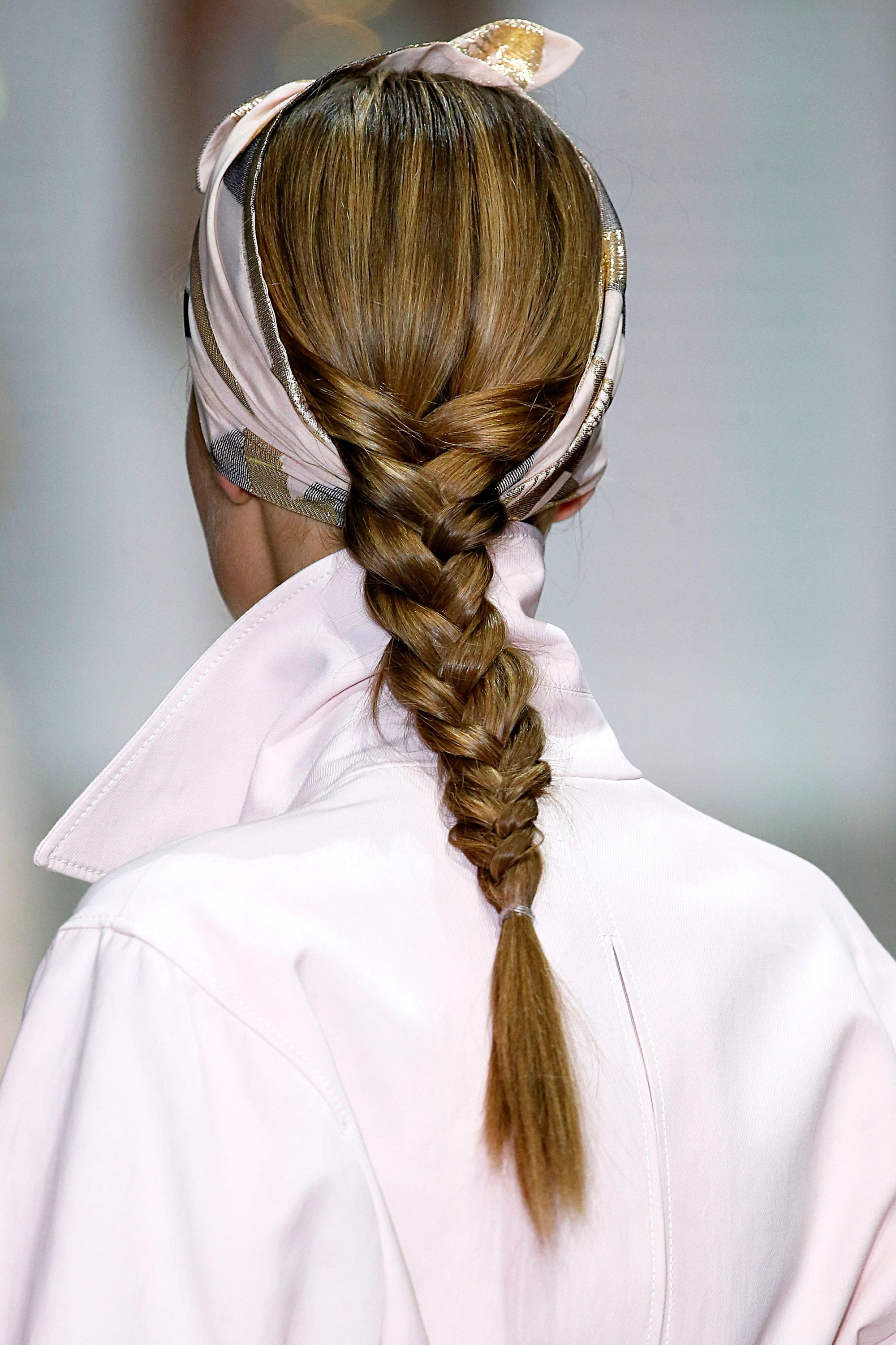 Hair trends for spring summer 2018 - Hair trends from fashion week SS18
